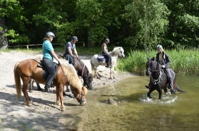 Wanderritt nach Ruhlsdorf ins Feriendorf Dorado